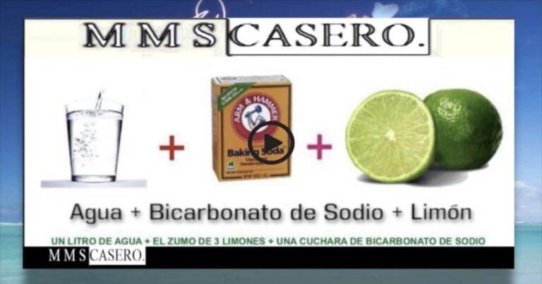 mms casero bicarbonato limon